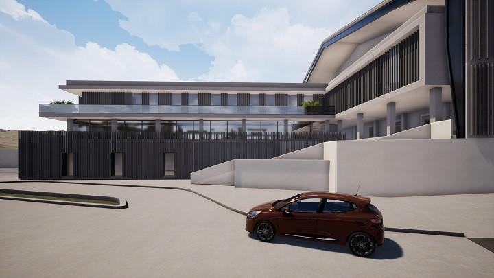 ساختمان چند منظوره پارک فناوری پردیس
