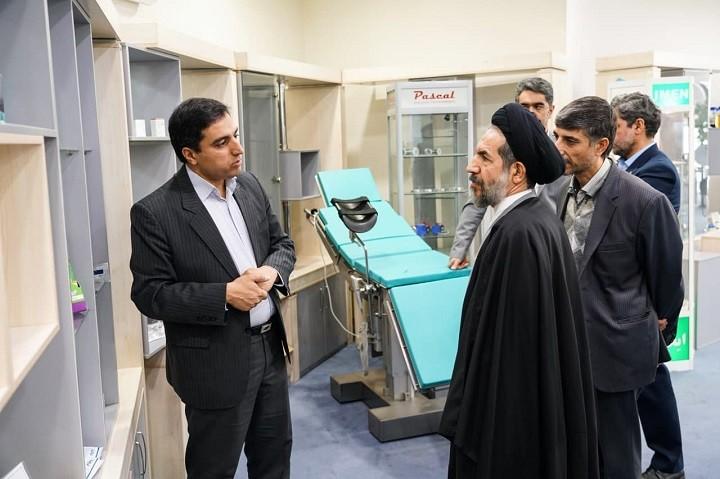 دیدار  حجت الاسلام ابوترابی  از پارک فناوری پردیس