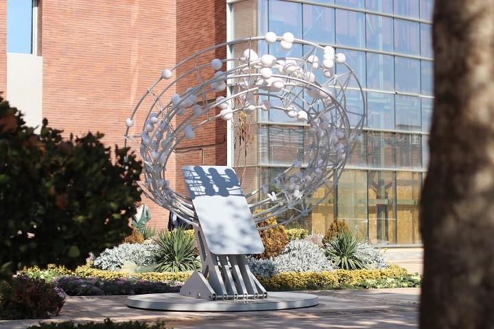 ساعت نمای آفتابی پارک فناوری پردیس