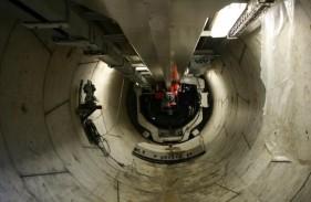 بهرهبرداری از پروژه ربات بازرس ریلی و تونلی شبکه انتقال برق