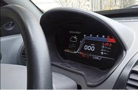 داشبورد دیجیتالی با قابلیت نصب روی خودروهای داخلی ساخته شد