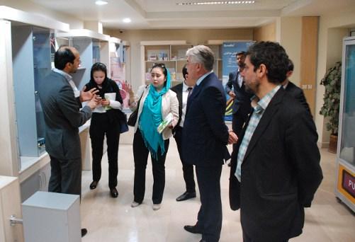 بازديد معاون اول وزير صنعت و فناوريهاي نوين قزاقستان از پارك